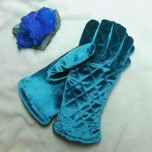 Thinsulate Blue Quilted Winter Gloves 40 gram